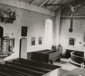 Interiör från Törnsfalls kyrka 1948.