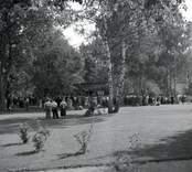 Hembygdsfesten i Ankarsrum 1955.
