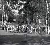 Hembygdsfesten i Ankarsrum1955.