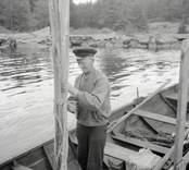 Axel Kvarnudd i Kvarnviken.