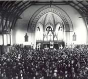 Från invigningen av Fagerhults kyrka 1894.