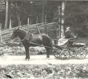 Elis Tolf i Uddekvarn.   Foto: Berners samling, Hjorteds hembygdsförening.