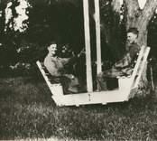 Trädgård i Simontorp, ritad 1927.