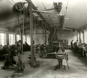 Arvid Sjöquists Formfabrik, foto 1940-09-02