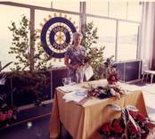 "Rotary damklubb, Västerviks ""Inner Wheel club"" charterfest den 8 juni 1964"
