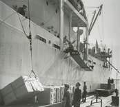 Sjötransport av varor vid Eds bruk, Gamlebruk.