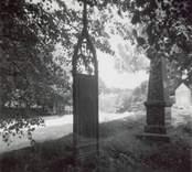 Döderhult socken Kyrkogården   Foto M. Hofrén 1950