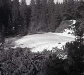 En isgrop, Örsjöåsen.