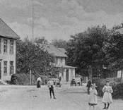 Nybro. Storgatan omkring 1895.