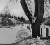 Järnvägsgatan i Nybro.