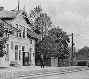 Orrefors järnvägsstation.