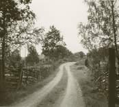 Vägen till Sjöendemåla by.