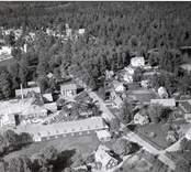Flygfoto över Alsterbro.