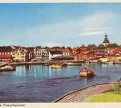 Fiskhamnen i Västervik.