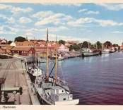 Hamnen i Västervik.