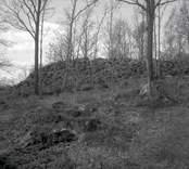 Ett gravrösen vid hembygdsgården i Kristdala socken.