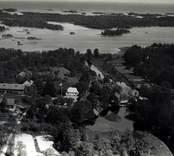 Flygfoto över Virbo i Misterhults socken.