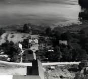 Flygfoto över Tjustgöl i Misterhults socken.