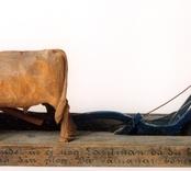 Plöjande bonde [Skulpturgrupp]