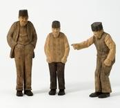 Tre gubbar  [Skulpturgrupp]