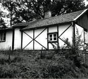 Korsvirkeshuset i Gränerum.  Foto: Susann Johannison 1994