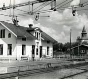 Den gamla järnvägsstationen i Örsjö.