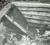 Den upplagda marknadsbåten, aktern.
