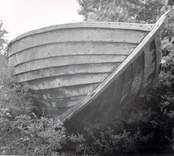 Den upplagda marknadsbåten, fören.