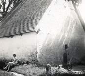 Bårhuset på Madesjö kyrkogård.