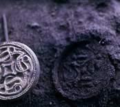 Arkeologiskt fynd från hus II i Sörby Tall.