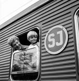 Tage Danielsson. TV-inspelning av 1969 års adventskalender Herkules Jonssons storverk, med skådespelarna Tage Danielsson och James Dickson.