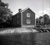 Misterhults socken, boningshus gaveln vid Älö.