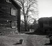 Hagnebo, bostadshus med liggande timmer samt en  ekonomibyggnad.