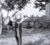 Sven med portör 1916
